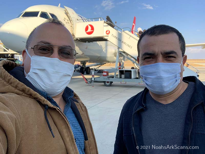 Andrew Jones and Zafer Onay (2020) - pandemic won't stop the ark project!