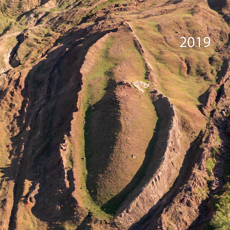 2019 Drone photo Noah's ark (Durupinar site) - © Andrew Jones